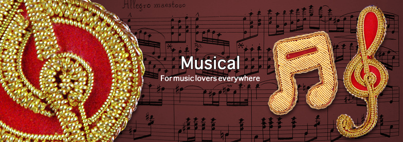 Designs from around the world - Musical