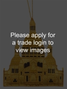 Gold Sacred Heart Basilica of Montmartre Places