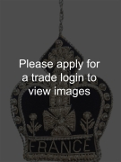 Navy and Silver Crown with FRANCE DS Places