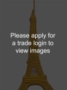 Gold Tissue Eiffel Tower DS Places