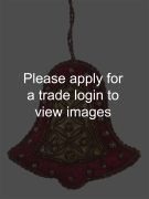 Maroon and Gold Tissue Bell SS TRADITIONAL